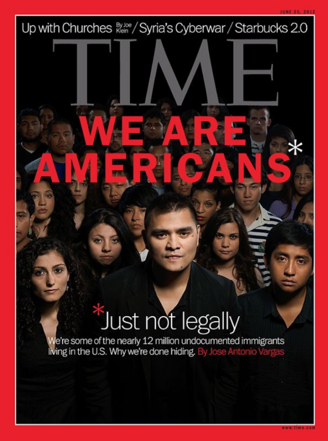 Time Magazine features Dreamers