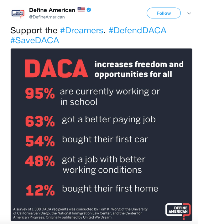 Support the Dreamers
