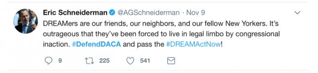 DREAMers Act Tweet