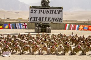 #22PushupChallenge 803 soldiers