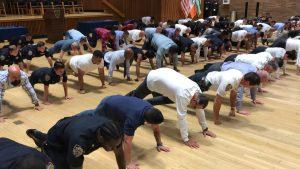 #22PushupChallenge NYPD pushups